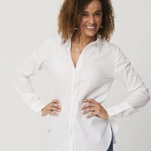 One P Boyfriend Shirt White.