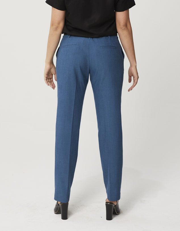 One P Classic Slim Line Pants in Moroccan Blue.