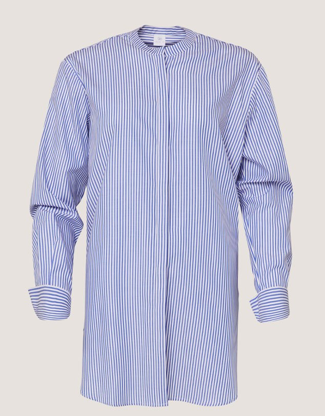 One P Long French Shirt Pinstripe.