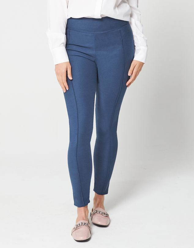 Tencel Linen Ponte Pants